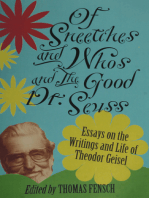 Of Sneetches and Whos and the Good Dr. Seuss