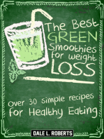 The Best Green Smoothies for Weight Loss