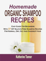 Homemade Organic Shampoo Recipes