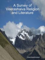 A Survey of Veerashaiva Religion and Literature