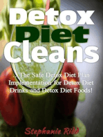 Detox Diet Cleans