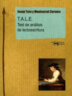 T.A.L.E.: Test de análisis de lectoescritura
