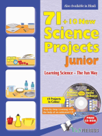 71+10 New Science Project Junior (with CD)