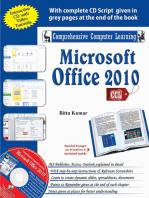 Microsoft Office 2010: -
