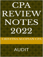 CPA Review Notes