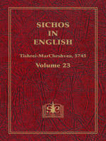 Sichos In English, Volume 23