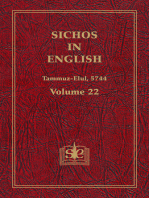 Sichos In English, Volume 22