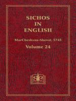 Sichos In English, Volume 24