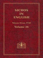 Sichos In English, Volume 26