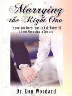 Marrying the Right One