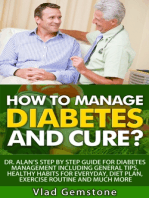 How to Manage Diabetes and Cure?