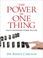The Power of One Thing
