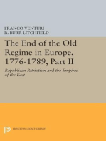 The End of the Old Regime in Europe, 1776-1789, Part II