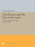 Noh Drama and The Tale of the Genji