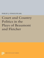 Court and Country Politics in the Plays of Beaumont and Fletcher