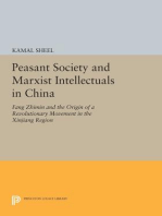 Peasant Society and Marxist Intellectuals in China
