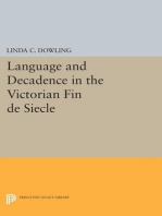 Language and Decadence in the Victorian Fin de Siecle