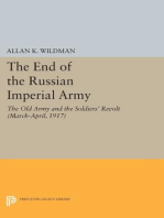 The End of the Russian Imperial Army