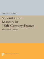 Servants and Masters in 18th-Century France