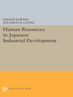 Human Resources in Japanese Industrial Development