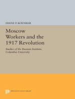 Moscow Workers and the 1917 Revolution