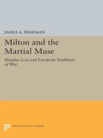 Milton and the Martial Muse
