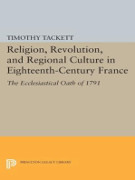 Religion, Revolution, and Regional Culture in Eighteenth-Century France