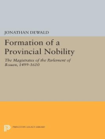 Formation of a Provincial Nobility