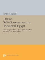 Jewish Self-Government in Medieval Egypt
