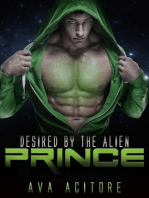 Desired By The Alien Prince (Alien Abduction Series, #1)