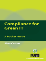 Compliance for Green IT: A Pocket Guide