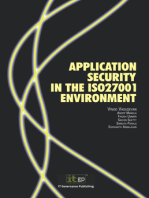 Application Security in the ISO27001 Environment