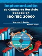 Implementación de Calidad de Servicio basado en ISO/IEC 20000: Una Guía de Gestión