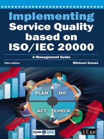 Implementing Service Quality based on ISO/IEC 20000: A Management Guide