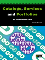Catalogs, Services and Portfolios