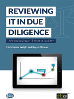 Reviewing IT in Due Diligence