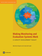 Making Monitoring and Evaluation Systems Work:  A Capacity Development Tool Kit