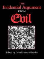 The Evidential Argument from Evil