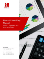 Financial Modelling Manual: A comprehensive but succinct step-by-step guide to building a financial forecast model in Excel