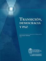 Transición, democracia y paz