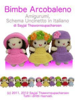 Bimbe Arcobaleno Amigurumi, Schema Uncinetto in Italiano
