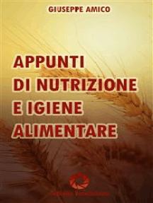 Appunti di nutrizione e igiene alimentare