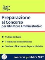Preparazione al Concorso per Istruttore Amministrativo