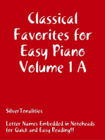 Classical Favorites for Easy Piano Volume 1 A