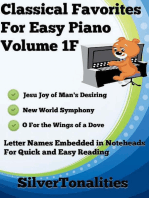 Classical Favorites for Easy Piano Volume 1 F