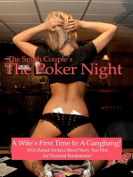 The Poker Night, A Kinky Wifes First Gangbang