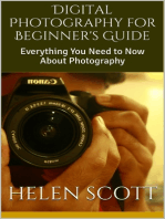 Digital Photography for Beginner's Guide