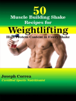 50 Muscle Building Shake Recipes for Weightlifting