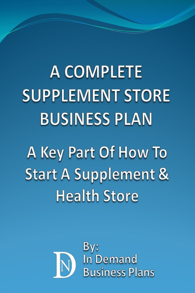 Health supplements business plan top article review writing website usa