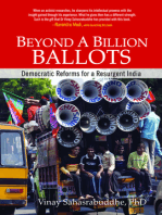 Beyond A Billion Ballots: Democratic Reforms for a Resurgent India